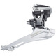 Shimano FD-CX70 Forskifter 2x10-speed hurtig top-pull grå/sort